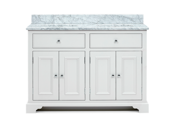Chichester 1240 Undermount D-Door Washstand Only-Shell-Shell Front