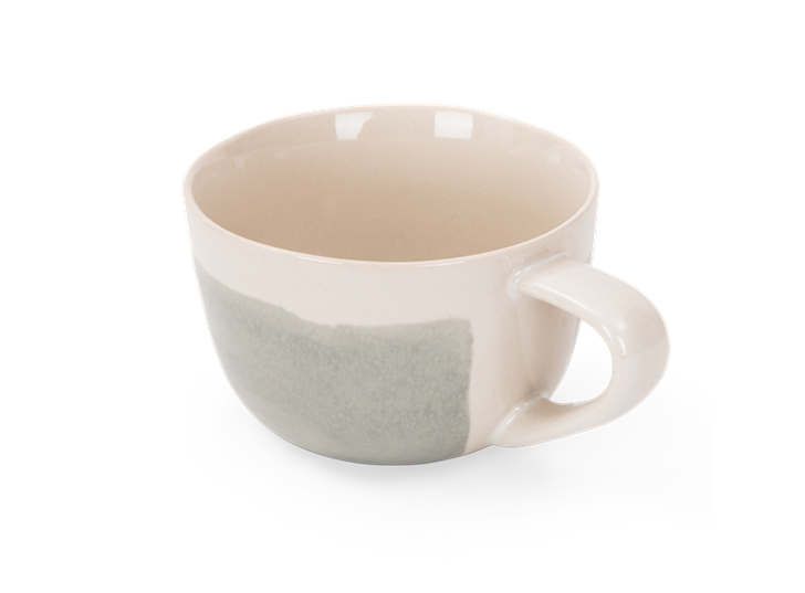 Lulworth large mug 480ml, off white, rim copy