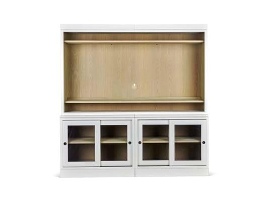 Chawton 105 double TV cabinet glazed_front_1 CC