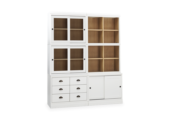 Chawton Contemporary Double Dresser - Snow