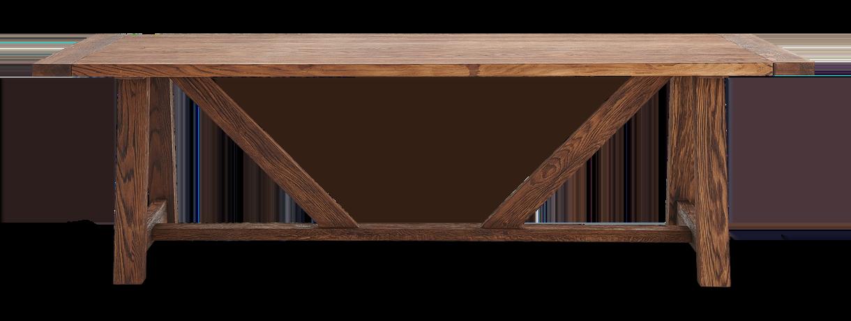 Arundel_245 Table_Darkened Oak_Front