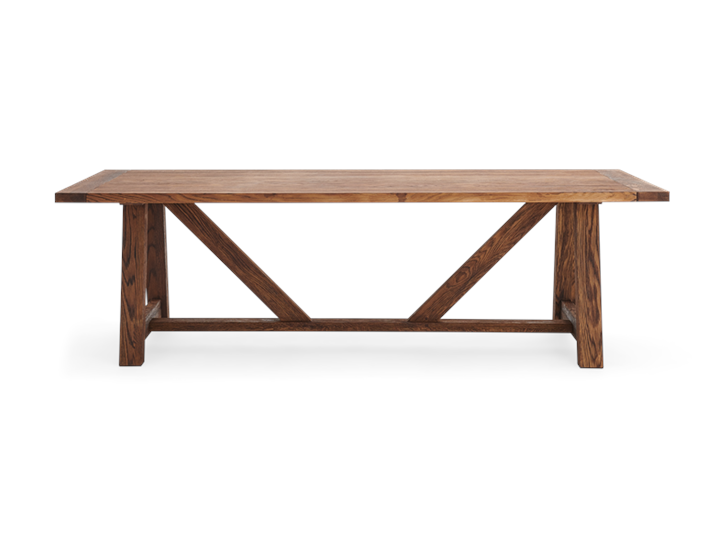 Arundel_245 Table_Darkened Oak_Front