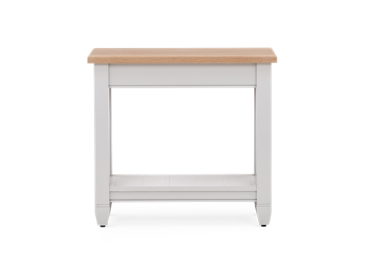 Chichester 65 Rectangular Side Lamp Table Front