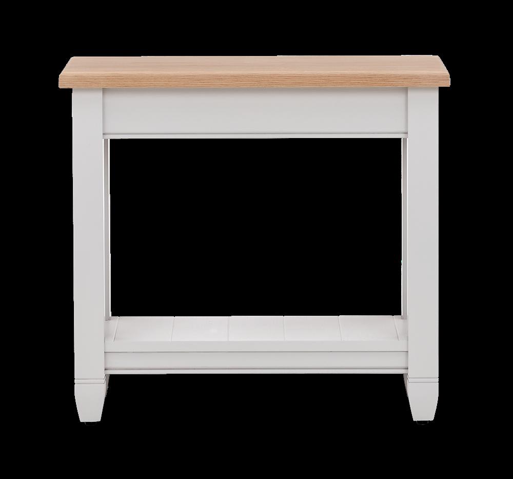 Chichester Oak Tall Side Table Neptune