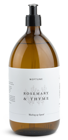 Rosemary and Thyme Washing Up Liquid_Front