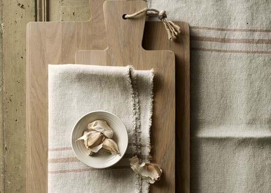 Borough Rectangular Oak Chopping Board - Seasoned Oak