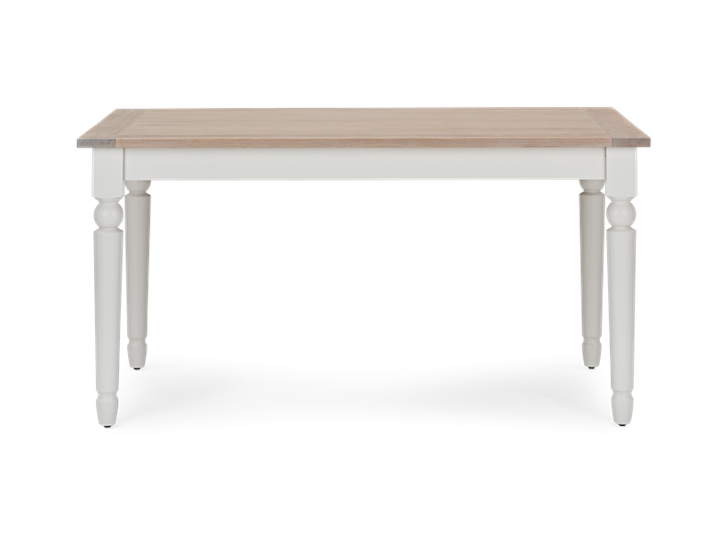 Suffolk 150 Rectangular Table_Silver Birch_Front