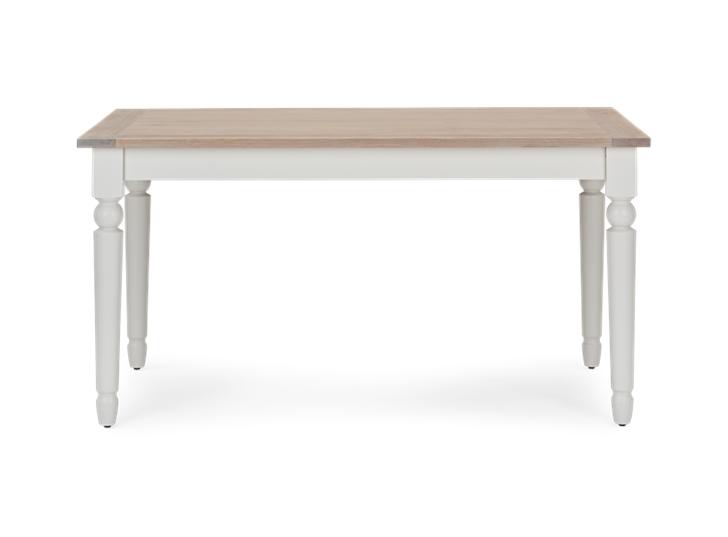 Suffolk 150 Rectangular Table_Silver Birch_Front
