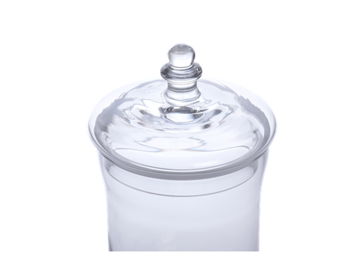 Belmont Glass Jar, Small 3