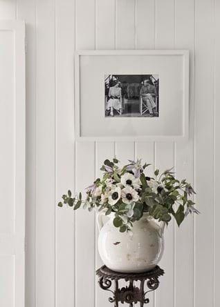Haybrook round pot with print