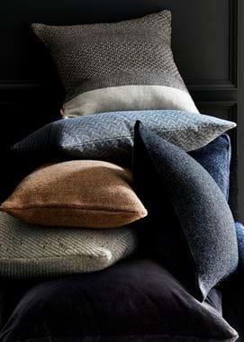 Grace cushion, Eleanor blue