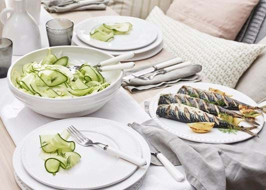 Bowsley Salad Bowl - White