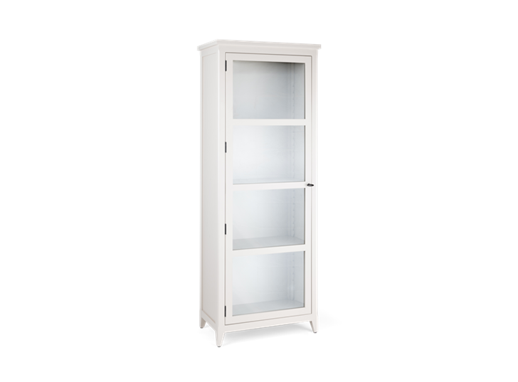 Shepton, glazed display cabinet, 3quarter - Right copy