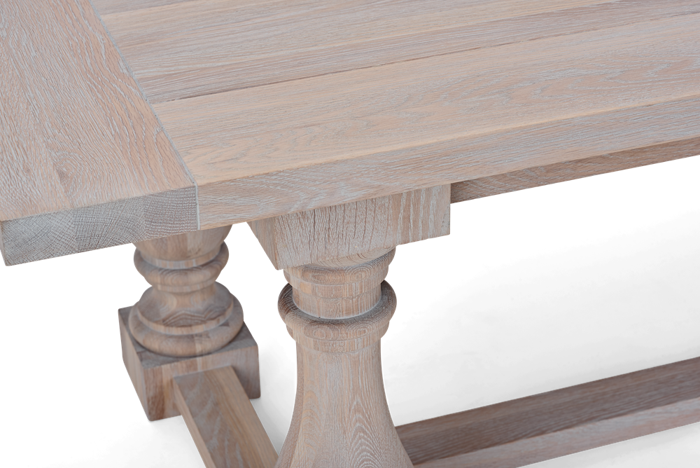 Balmoral 240 Rectangular Table_Seasoned Oak_Detail 3
