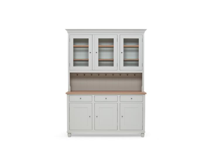 Suffolk 5ft glazed Dresser Silver Birch Front Closed ┬® Robert Smith 2020