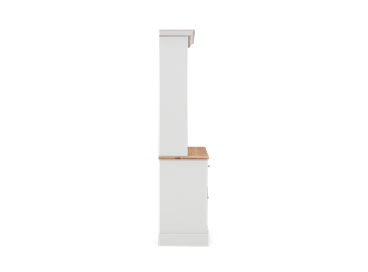 Chichester 4ft Open Rack Dresser Top Side