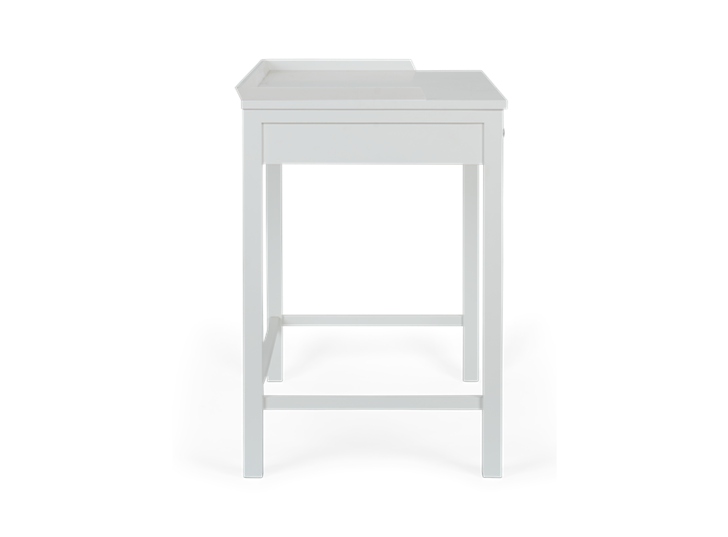 Aldwych dressing table Painted snow_side