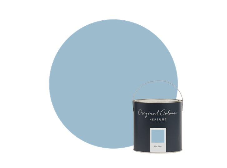 Seasonal Flax Blue tin