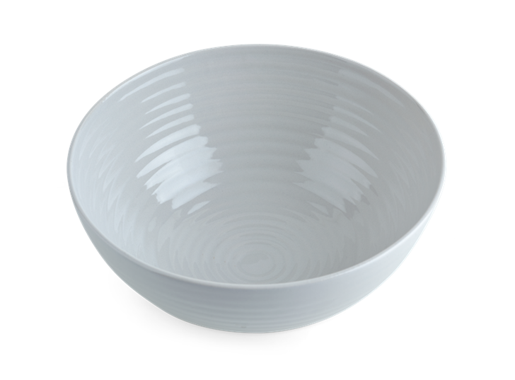 Lewes Serving Bowl Small Grey_Top