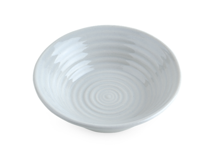 Lewes Dipping Bowl Grey_Top