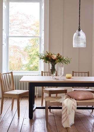 Shaftesbury Fluted Pendant Small_Wycombe Dining