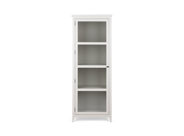 Shepton, glazed display cabinet, front - Right copy