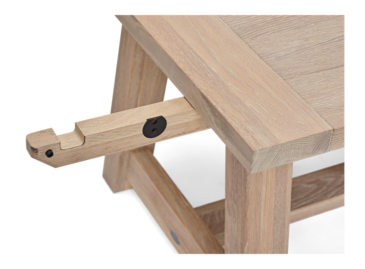 Arundel 184-274 Ext Table_Natural Oak_Detail 3