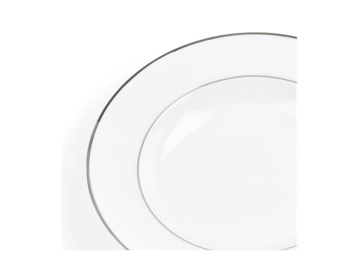 Fenton Soup Plate Set of 6 Platinum_Detail
