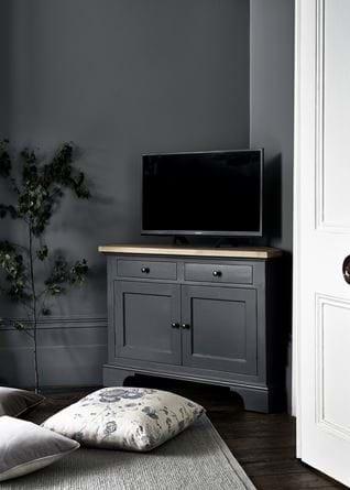 Grace cushion with Henley AV cabinet