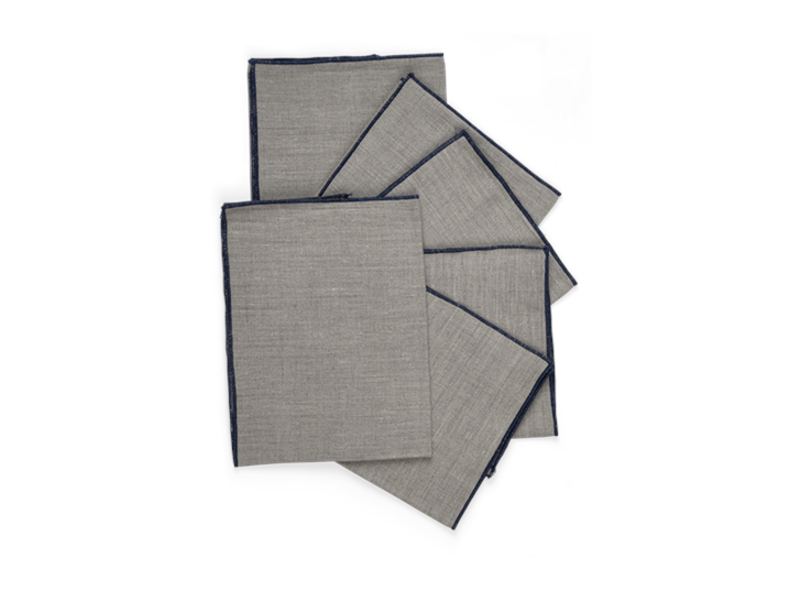 Lucien Natural Napkins Set of 6_Stack