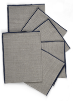 Lucien Linen Natural Napkins, Set of 6