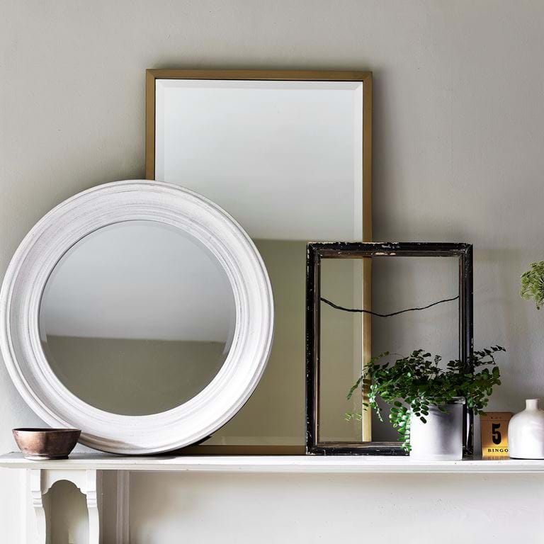 Mirrors on mantle