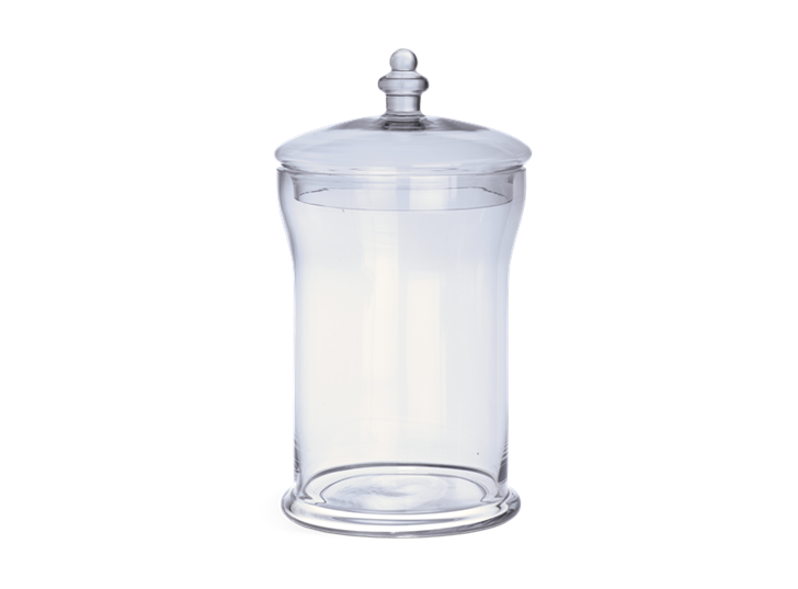 Belmont Glass Jar, Large