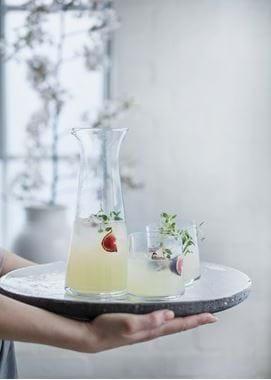 Ella water jug, clear