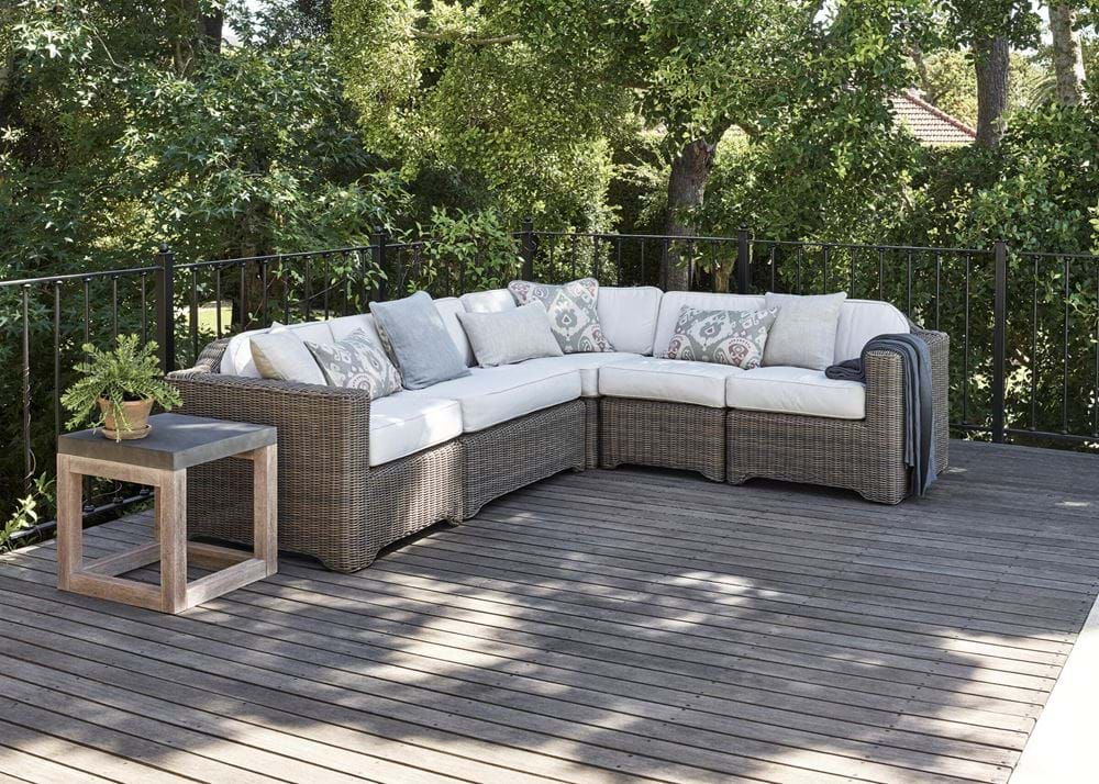 Tresco Large Modular Set with Oatmeal Cushions_Garden Furniture_Relaxed Seating