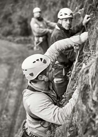 Neil Heritage climb