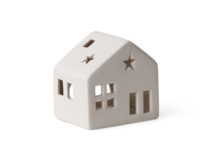 Castleton house tealight holder small - 3quarter