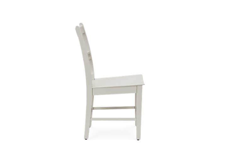 Suffolk Dining Chair_Painted Silver Birch_Side
