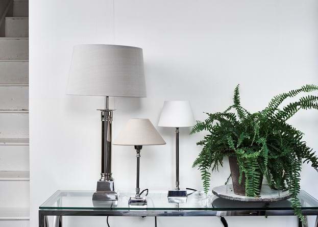 Hanover Nickel Lamps