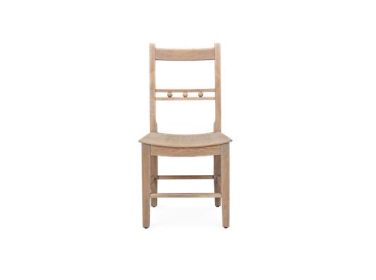 Suffolk Dining Chair_Seasoned Oak_Front copy
