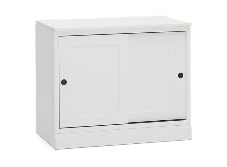 Chawton 3ft 2 Door Sideboard - Snow