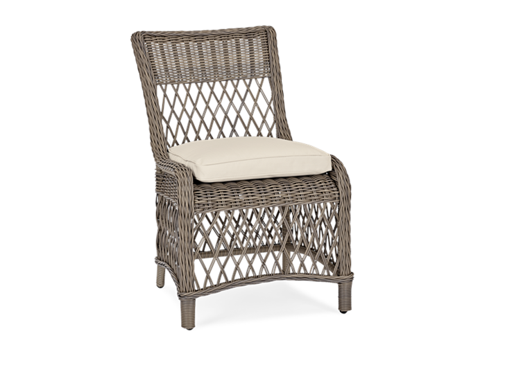 Harrington Dining Chair with Oatmeal Cushion_Garden