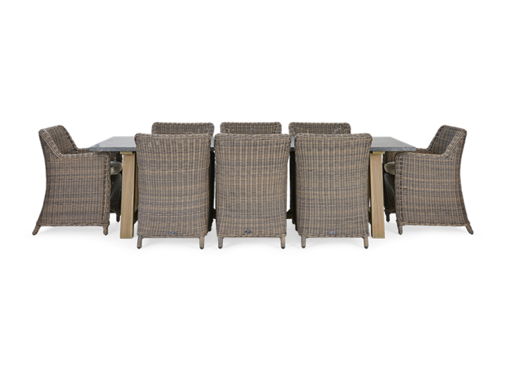 Stanway Bluestone and Stanway Dining chair set