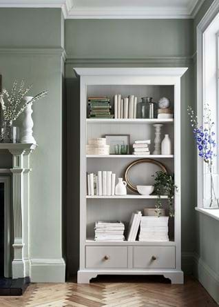 Traditional Chichester Bookcase Living Shelf Styling Storage