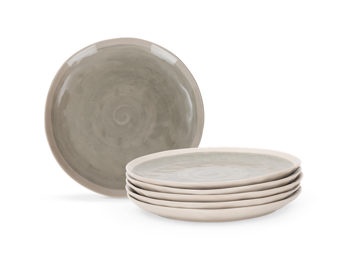 Lulworth Dessert plate, 5 stack copy