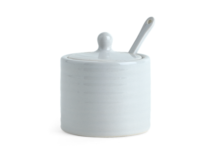 Lewes Spice Pot with Spoon Grey_Front 1