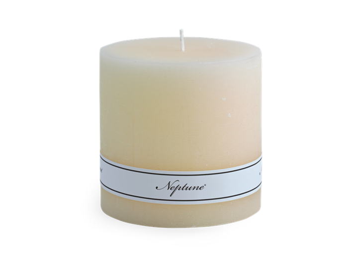 Blyton Calico 10x10 Pillar Candle