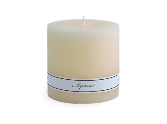 Blyton Calico 10x10 Pillar Candle