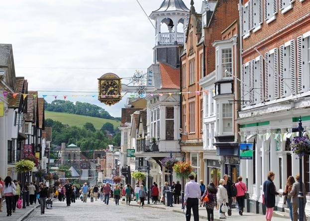 Guildford High Street. Mark via Flickr