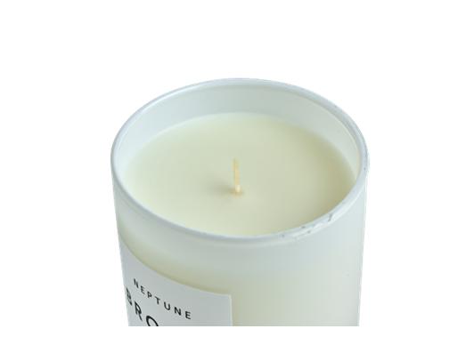 Bronte Verveine Scented Candle, White D